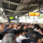中央本線臨時ダイヤでの朝の上り電車状況