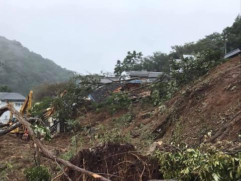 台風19号上陸から1週間
