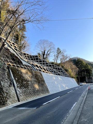 県道520号の復旧作業が完了しました